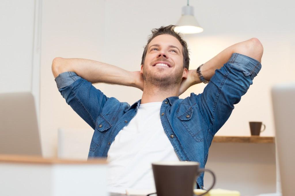 Entspannter durch den Arbeitsalltag, im Büro entspannen, 3 Tipps