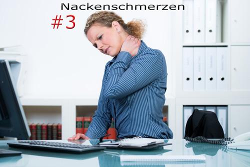 Nackenschmerzen Büro