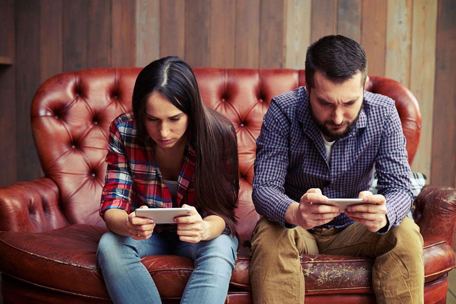 Smartphone schlecht für Selbstvertrauen (schädlich)
