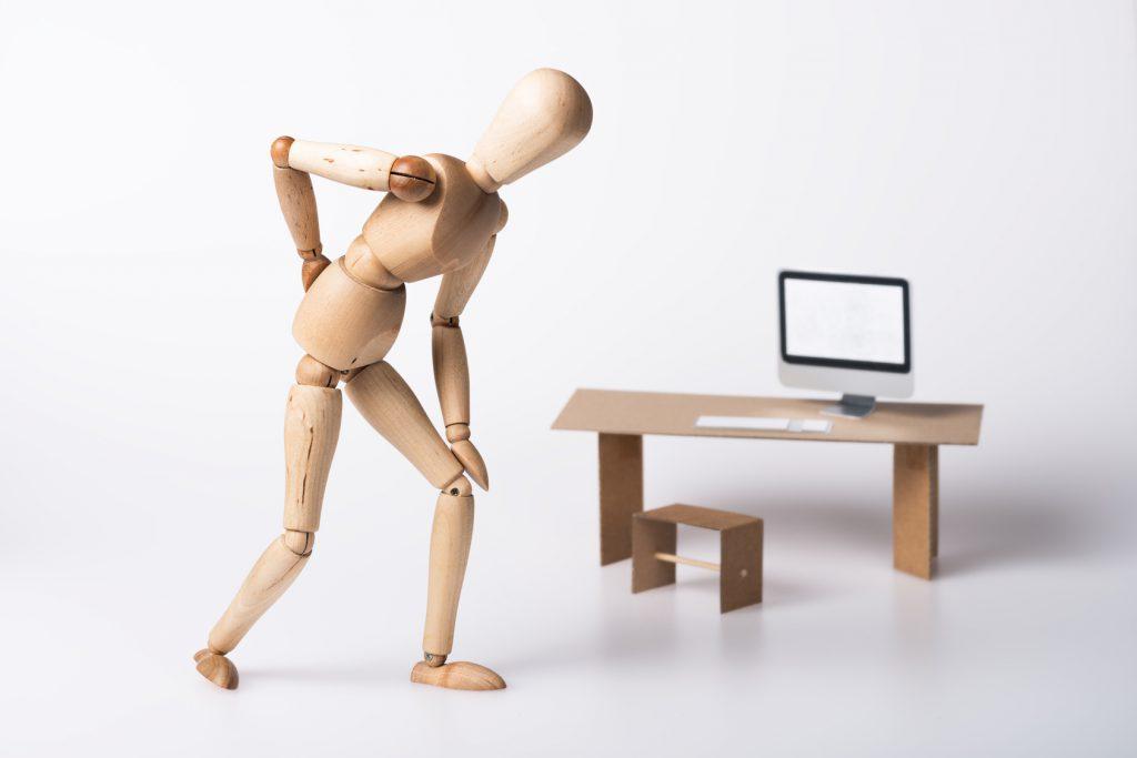 Rückenschmerzen im Büro - was hilft
