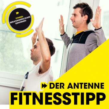 Der Antenne Fitnesstipp – Alle Büroübungen der Woche 2