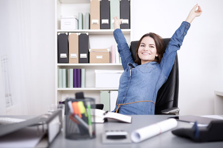 10 Tipps, um bei der Arbeit weniger vorm PC zu sitzen