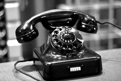 Wählscheibentelfon