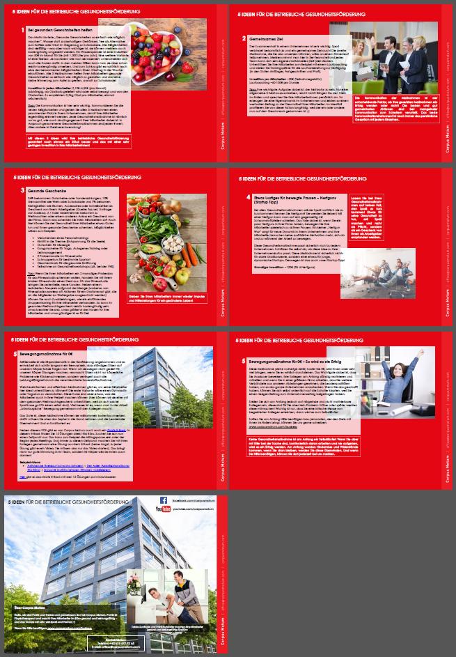 betriebliche gesundheitsfrderung manahmen beispiele - Betriebliche Gesundheitsforderung Beispiele
