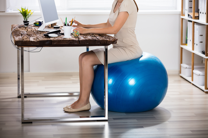 Gymnastikball Fitness Swissball Büro Büroball Balance Stuhl Sitzball Anti-Burst