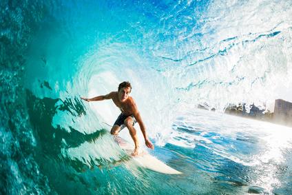 Geschenksidee Schnupperkurs für Surfen