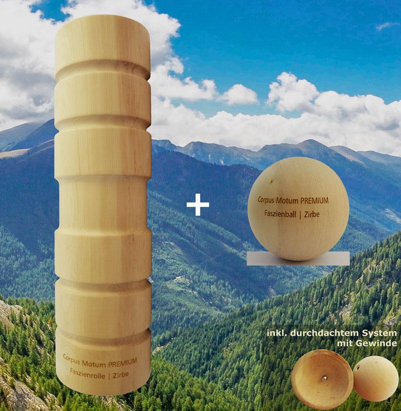 Holz-Faszienrolle | Das ideale Geschenk