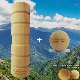 Diese Faszienrolle aus Holz lässt Sie ein komplett neues Faszien-Erlebnis erleben