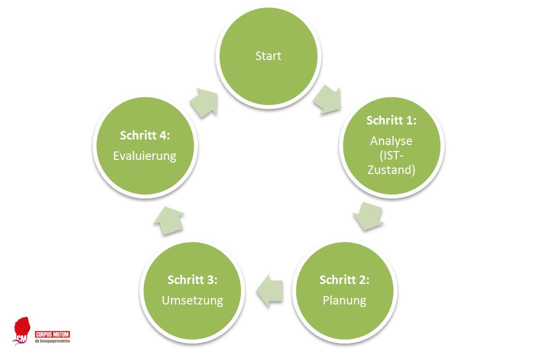 Betriebliche Gesundheitsförderung Prozess