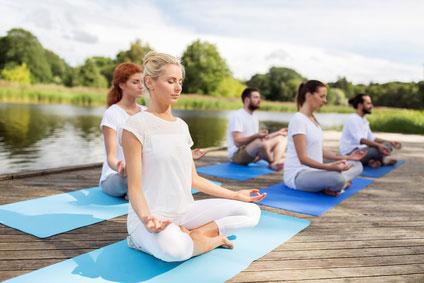 BGF Maßnahme Bewegung Yoga