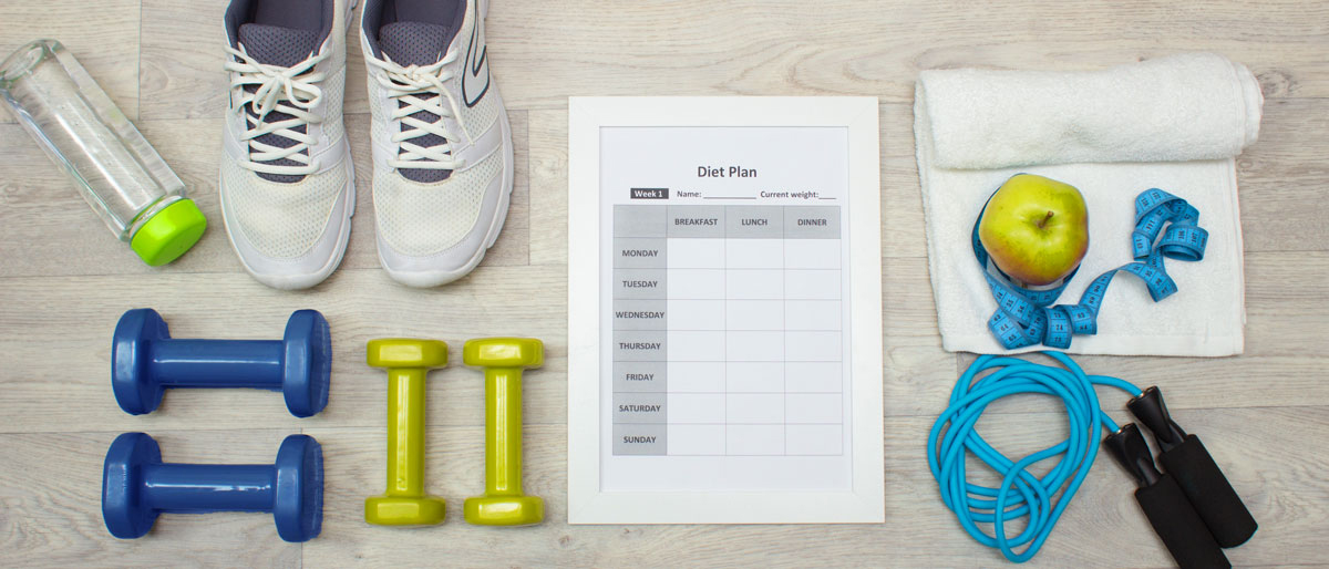 Fitnessstudio Trainingsplan