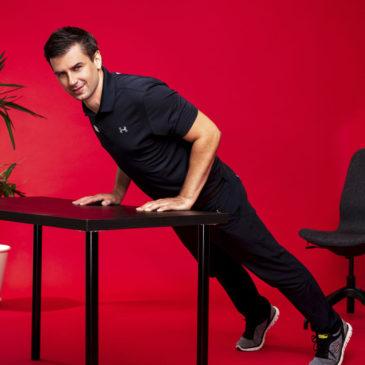 Sport im Büro | 12 wichtige Übungen, um fit zu werden