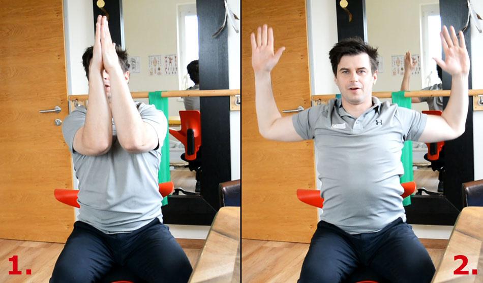 Übungen fürs Büro