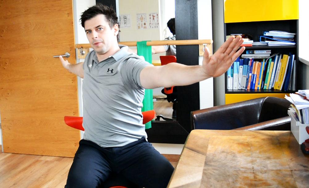Übungen im Büro | Mobilisation