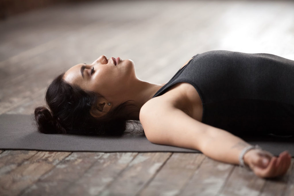 Entspannungsübungen bei Stress - autogenes Training