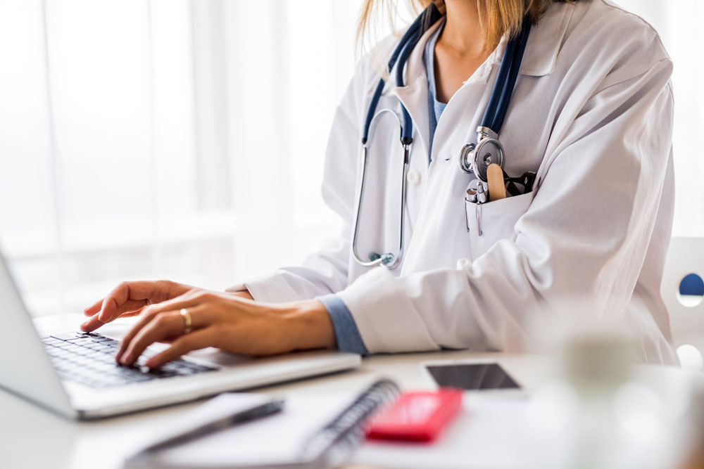 Arztbesuch Bandscheibenvorfall