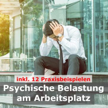 Psychische Belastung am Arbeitsplatz | 12Praxisbeispiele inkl. Evaluation